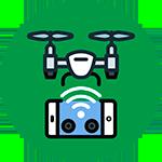 Captação de imagens aéreas com Drones